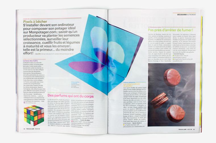 Le Papillon imprimeur dans le magazine Télérama