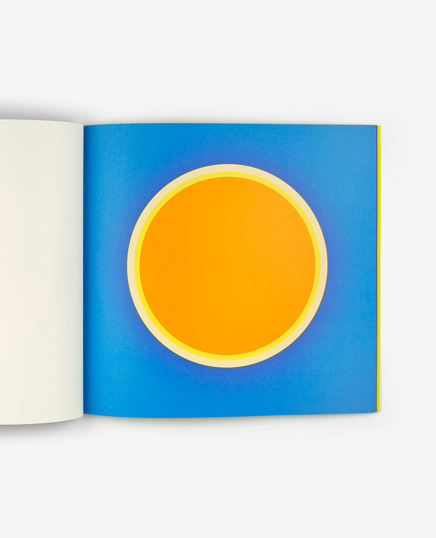 Soleil orange et jaune du livre Au soleil