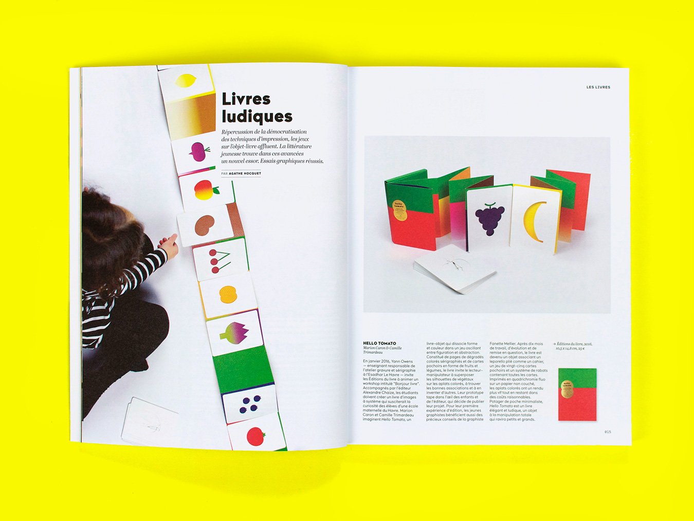 Hello tomato in etapes magazine 238