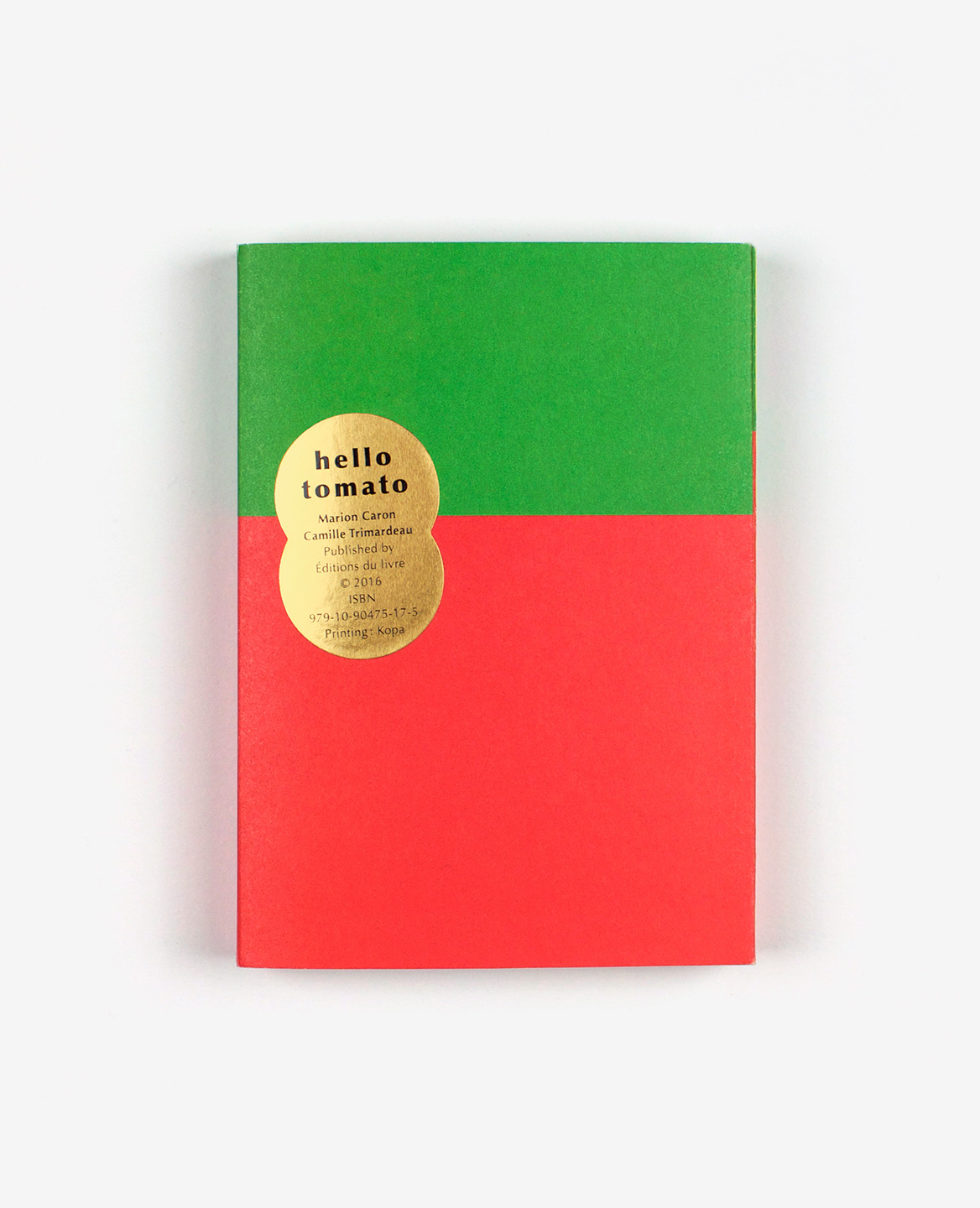Cover of the book-game Hello tomato