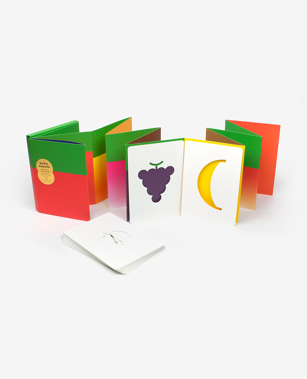 Hello tomato accordion book-game