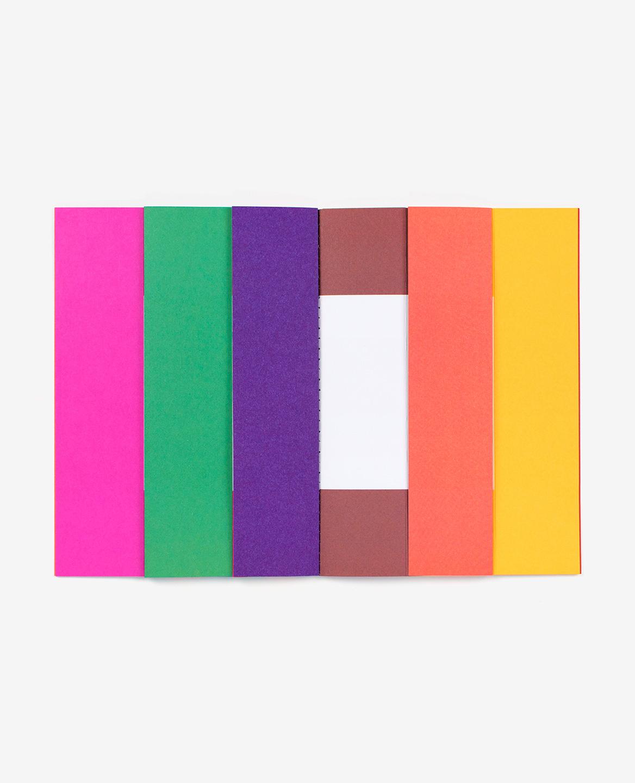 Mire colorée dans le livre Spaces d'Antonio Ladrillo