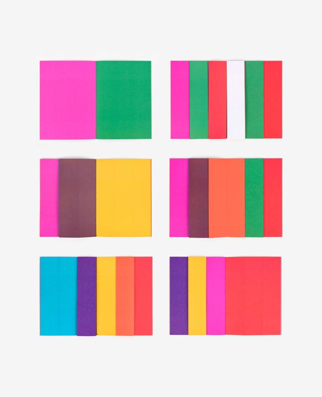 Pages colorées du livre Strips