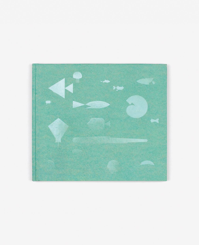 Couverture verte du livre Aquarium de Fanette Mellier publié aux Éditions du livre