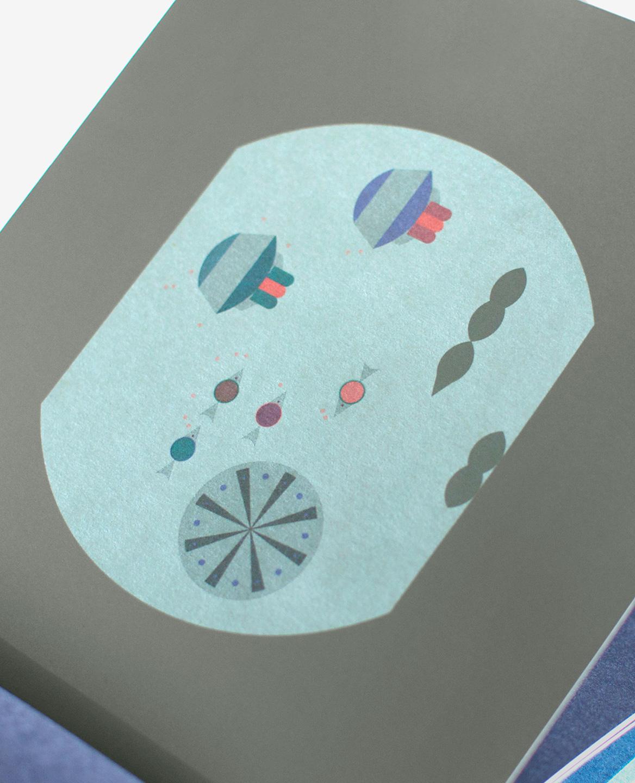 Méduses et poissons dans le livre Aquarium de Fanette Mellier publié aux Éditions du livre
