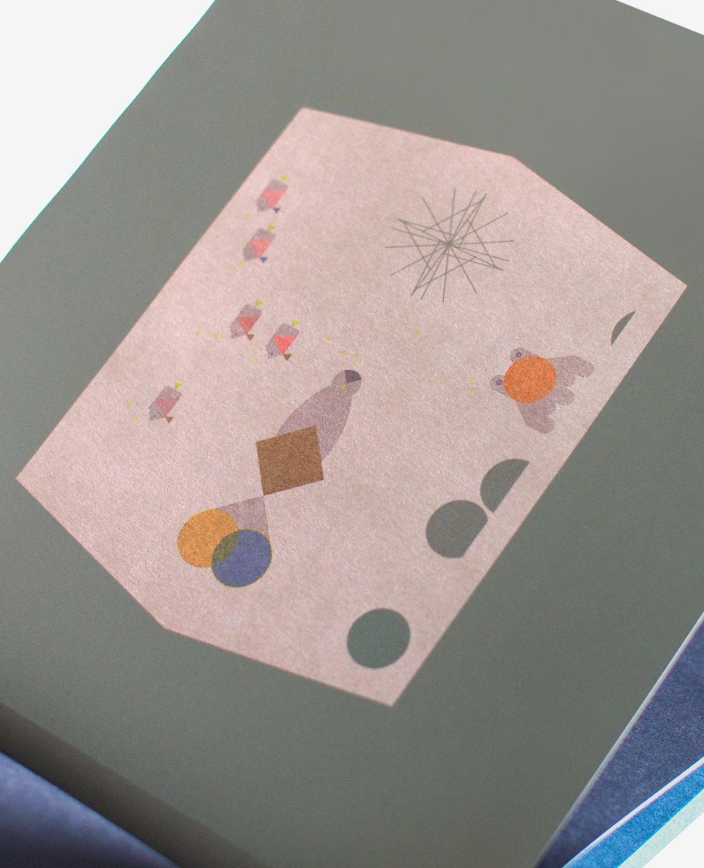 Espèces graphiques insolites du livre Aquarium de Fanette Mellier publié aux Éditions du livre