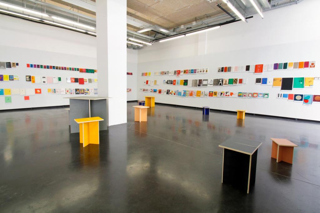 Vue générale de l'exposition Volumes au Bel ordinaire à Pau