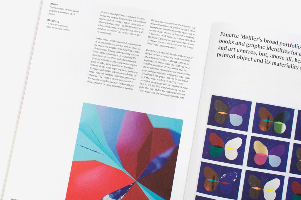 Détail d'une double page du magazine Mincho
