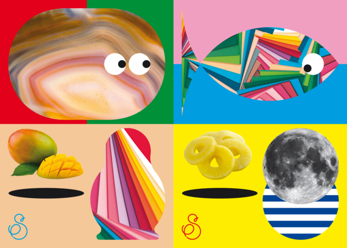 Flyers de l'exposition Les petits spécimens 4 – Mon tout est un livre