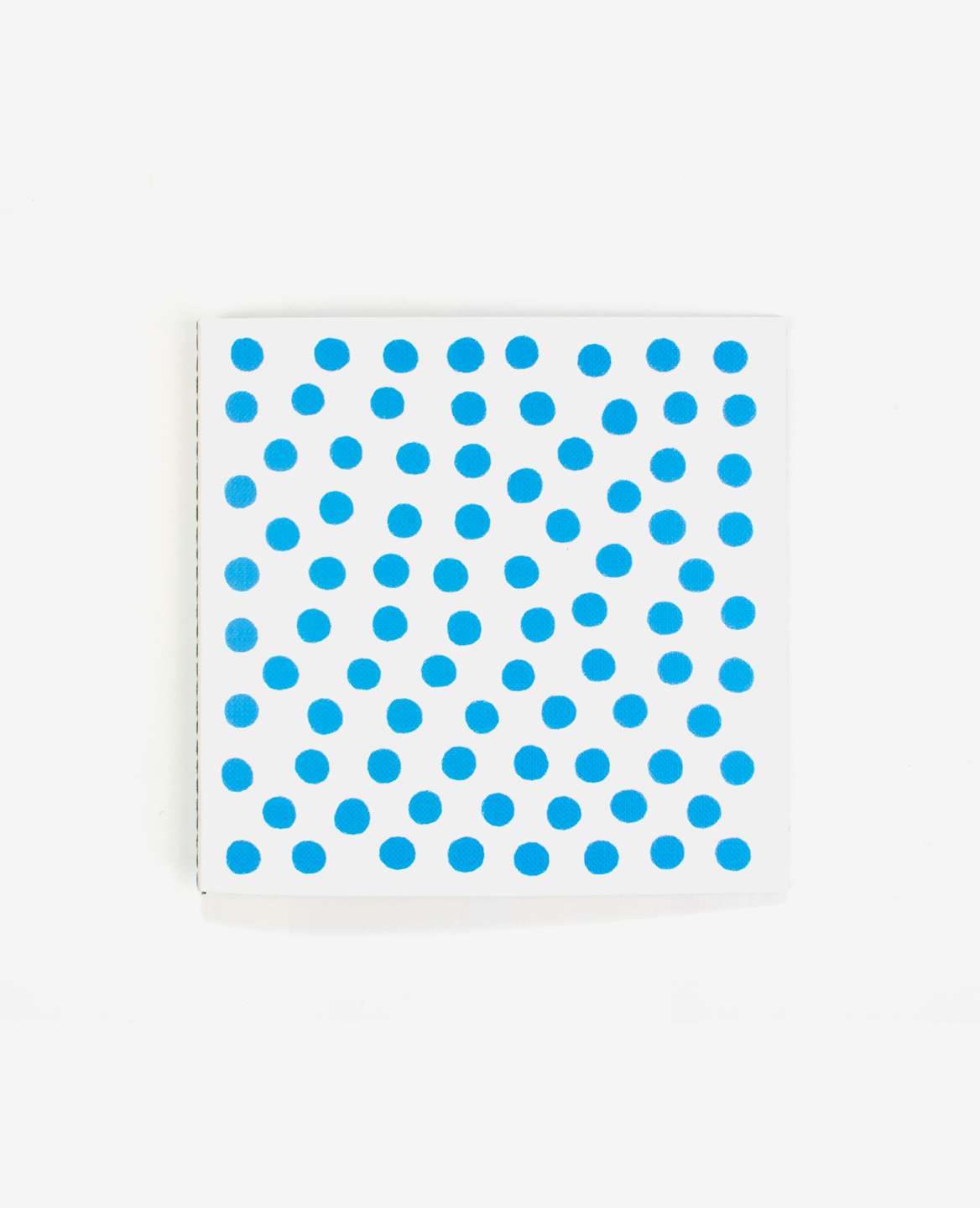 Blue spots on the cover of the book Colors by Antonio Ladrillo published by Éditions du livre