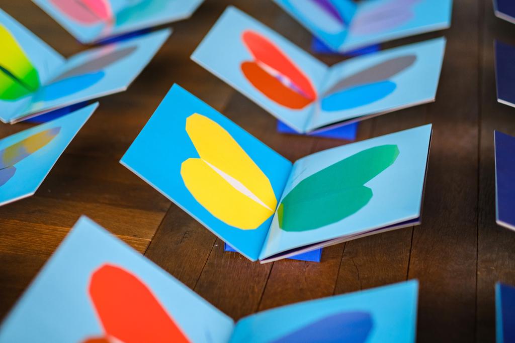 Détail de l'Installation Le Papillon imprimeur dans l'exposition AB / Augmented Books 2.0 aux Rotondes à Luxembourg